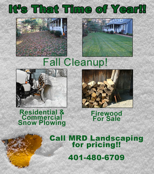 MRD Landscape and Lawn Care is a full service landscape company providing quality, individualized services to our customers with expertise in all areas of landscaping, dethatching, walkways, hardscaping, lighting, spring cleanups, fall cleanups